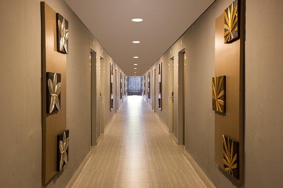Corridor of Kyriad Pesonna Malioboro