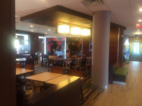 คลินตัน, มิซซิสซิปปี้: Breakfast area