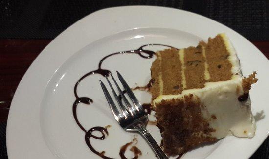 Trincity, Trinidad: Carrot Cake