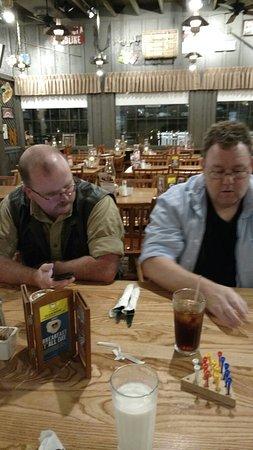 Sullivan, MO: Great company and great food!