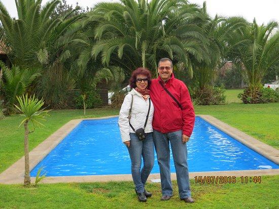 Santa Barbara Hotel: En el sector piscina del Hotel