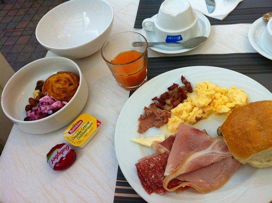Strombeek-Bever, Belgio: Breakfast