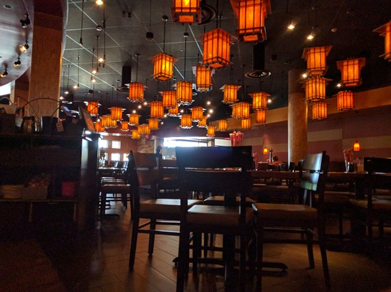 interior of pf chang s picture of p f chang s albany tripadvisor