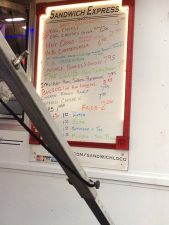 Crestview, FL: Menu Board