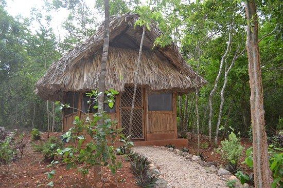 Santa Elena, Meksyk: Cabaña para masajes