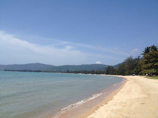 Lipa Noi, Thailand: Ruhiges Wasser, sehr lange flach.
