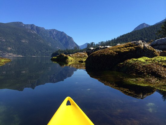 Sechelt, Canadá: Kayaking