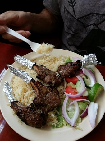 Lilburn, GA: Lamb Chops