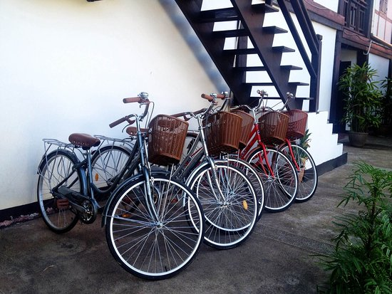Villa Lao : Bicycle for rent