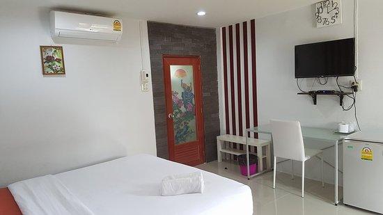 Mae Sot, Thailand: เตียงเดี่ยว