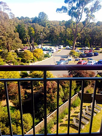 Creswick, Australia: Another view from our room 328