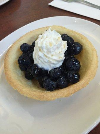 White spot: Blueberry Pie