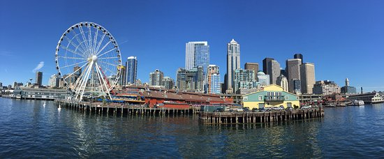 View Of Seattle Waterfront From The Cruise Ship Picture Of - Cruise from seattle