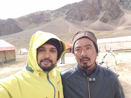 Goldrop Camps Sarchu and Sissu: With Vikram ; from the Sarchu Gold rop camp