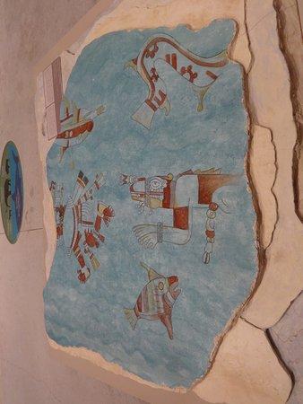 Foto De Gran Museo Del Mundo Maya Merida Colorido Mural Nos Da La