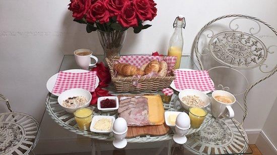 BB by Servio: The beautiful breakfast supplied