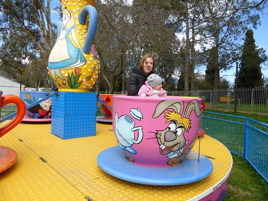 Floriade: tea cup ride