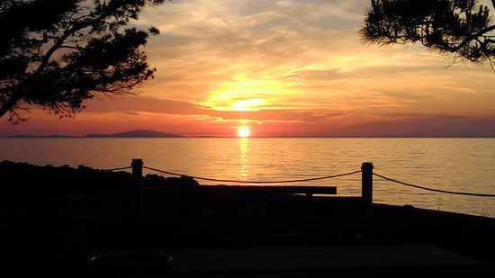 Mandre, كرواتيا: sunset
