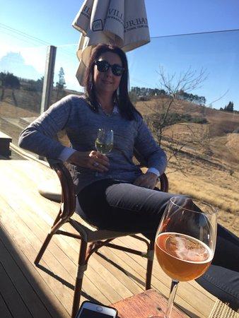 Nottingham Road, Republika Południowej Afryki: Relaxing on the deck