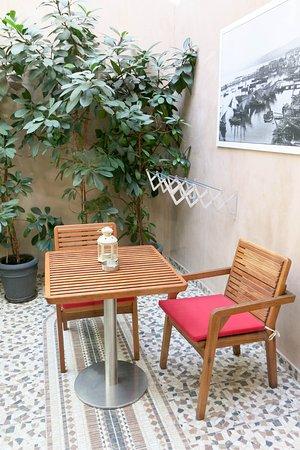 Fatma Hanoum Boutique Hotel : Great place for a quiet drink