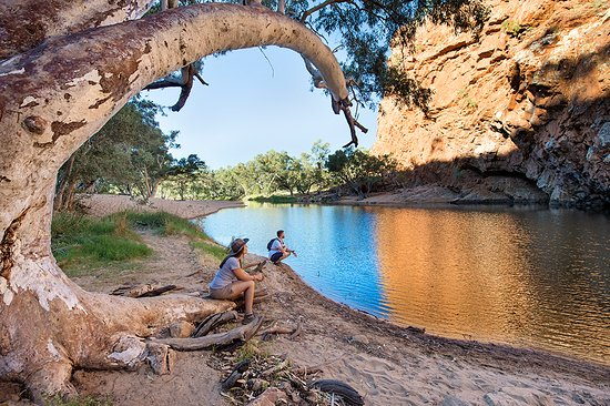 Alice Springs, Australia: Org - Ormiston Gorge, West Macdonnell Ranges