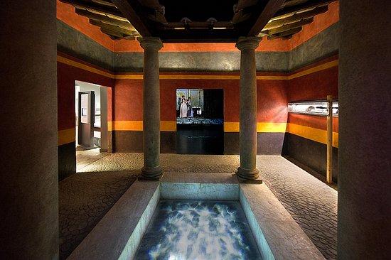 Museo de Prehistoria y Arqueologia de Cantabria: La casa romana