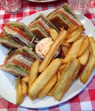 Ile-de-France, Frankrig: Club saumon (parfait)