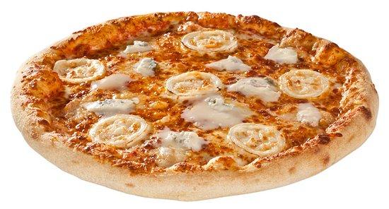 Epinay sur Seine, Francia: Pizza Cheese (Sauce tomate, emmental, chèvre, gorgonzola et mozzarella) Planète Pizza Epinay sur
