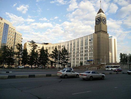 Krasnoyarsk Big-Ben