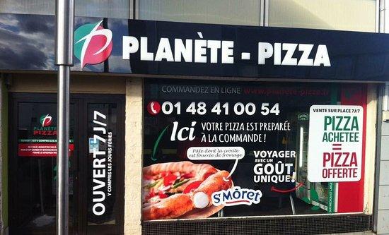 Planète Pizza Epinay Sur Seine