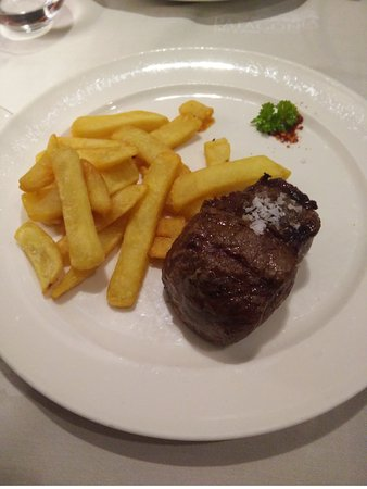 Patagonia Beef & Wine: Bifé de cuadril. Al punto solicitado. Muy buena calidad.
