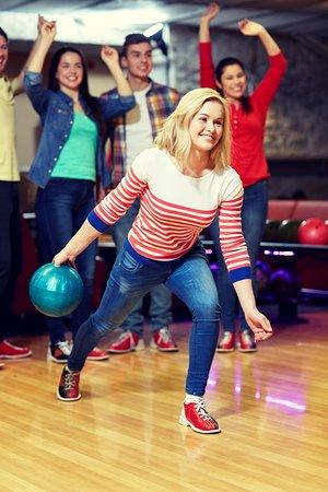 Schwetzingen, Alemania: Bowling