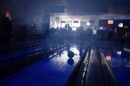 Schwetzingen, Alemania: Disco Bowling