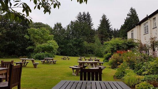 Cwmtaf, UK: gardens