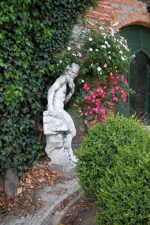 Ovada, Italie : giardino