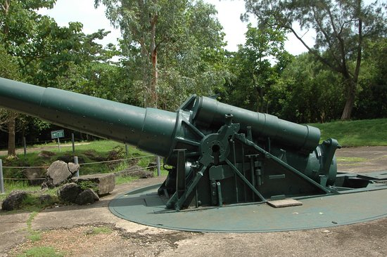 Cavite Province, Philippines : WWII gun emplacement