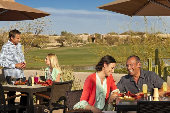 Boulders Resort & Spa, Curio Collection by Hilton: Palo Verde Patio Dining
