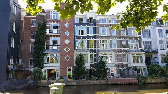 The Amsterdam Canal Hotel Picture Of The Amsterdam Canal