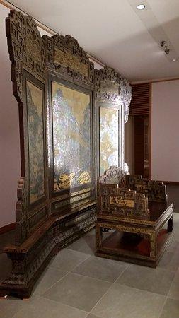 Museum of Ethnology (Ethnologisches Museum): Трон императора (Китай)