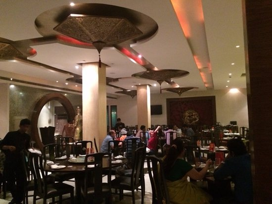 Mainland China: Dining area