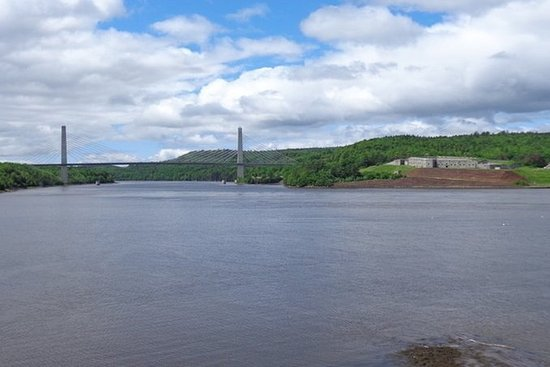 Bucksport, เมน: Rsz Fort Knox And Penobscot Narrows Bridge