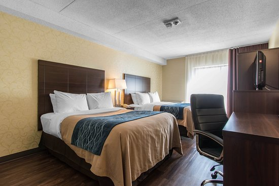 Comfort Inn Trois Rivieres : Guest Room