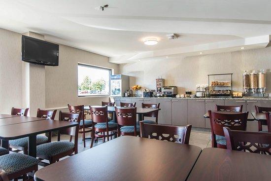 Comfort Inn Trois Rivieres: Breakfast Area