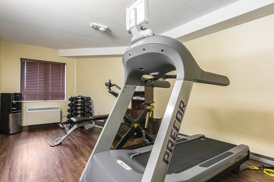 Comfort Inn Trois Rivieres: Exersise Room