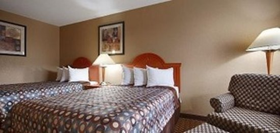 Comfort Stay Inn: Two double beds