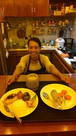 Chez Fred et Lea: Légumes farcis et Mok Pa