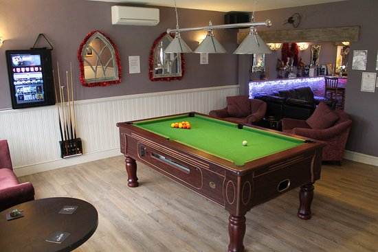 The Swan Motel: Pool Table