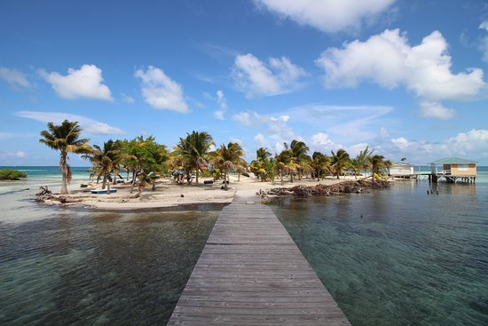 Caye Caulker, Belize: Ragga Island - Last stop on the tour