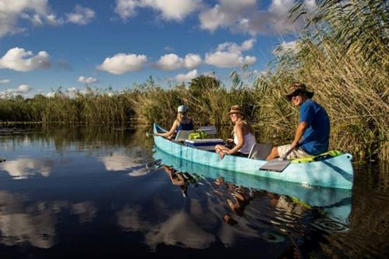 Canoeing In the Govuro Wetlands & Waterways Vilanculos Mozambique