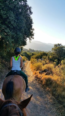 Villanueva del Trabuco, İspanya: A sunrise ride.